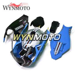 Trabalho de corpo preto prata azul para BMW S1000RR 2009 2010 2011 2012 2013 2014 09 10 11 12 13 14 Sportbike Carenagens Fibra de vidro Kits de corpo Cascos de