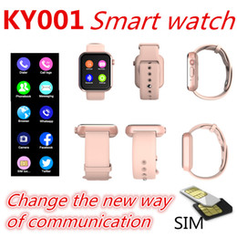 new smart watches Coupons - New KY001 Smart Watch With SIM Card Bluetooth Call 1.54'' PK Z6 DZ09 Sport Smartwatch Support Facebook for iOS-Apple Samsung Watch bracelet