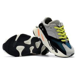 bebé libre Rebajas Adidas Yeezy 700 Zapatos de alta calidad para niños Wave Runner 700 Zapatos para correr Zapatillas de entrenamiento para bebés Kanye West 700 Zapatillas deportivas para niños