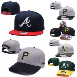 2019 дизайнерские шапки шапки мужские женские Pittsburgh # Oakland #Atlanta Высококачественный трикотаж Бейсболка Pirates Athletics Braves Бейсболка от