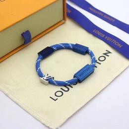 Bracelet Fashion Designers Colorido luxo mão cordas BraceletesLouisVuittonde s homens e mulheres amantes da jóia de Fornecedores de encanto de easter snap