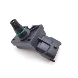 Assorbimento del turbocompressore online-Turbocompressore d'aria di aspirazione Turbo Sensore di pressione di spinta MAP per Volvo XC90 C30 C70 S40 V50 2.5l 0261230090 31355464
