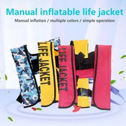 chaquetas de natacion para adultos Rebajas Pesca Chaleco salvavidas Flotabilidad Traje de baño Kayaking Chaleco salvavidas Chaqueta inflable para adultos Natación