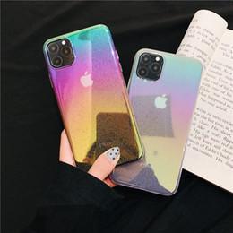 Cubierta de la caja de la gota de agua del iphone online-Colorido suave gel 3D Raindrop funda Modelo del teléfono del color por goteo soltar la cubierta de TPU teléfono para el iPhone 7 8plus XR X MAX 11 PRO
