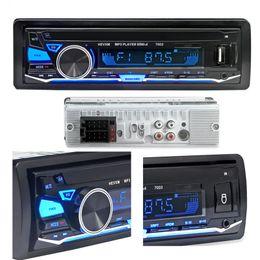 Usb sd mmc spieler online-12V Bluetooth Autoradio Stereo FM MP3 Audio 5V-Ladegerät USB SD MMC AUX Auto Elektronik In-Dash Autoradio 1 DIN NO CD