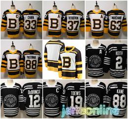 c822c112a 2019 Winter Classic Chicago Blackhawks Boston Bruins Toews DeBrincat Patrick  Kane Seabrook Crawford Pastrnak Bergeron Marchand hockey jersey