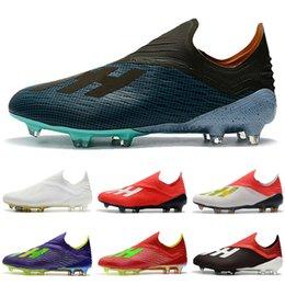 2019 scarpe indoor messi Indoor Soccer Cleats ACE Tango 17+ TF IC X19 + 19,1 Scarpe FG Purecontrol da calcio originali molti colori Messi scarpe da calcio al coperto scarpe indoor messi economici