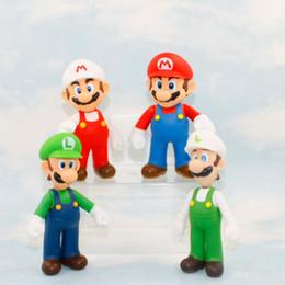 qualidade de brinquedos de fazenda animal Desconto 4 Estilo Crianças Super Mario Brinquedos 2019 Novo PVC Super Mario E Luigi Donkey kong Figuras de Ação Mario EEA342