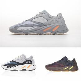 2019 zapatillas marrones Con botas de boxeo Geode Brown EG6860 Kanye Sneakers para hombre Zapatillas de deporte Sport Runner moda para hombre para mujer diseñador sandalias zapatos zapatillas marrones baratos