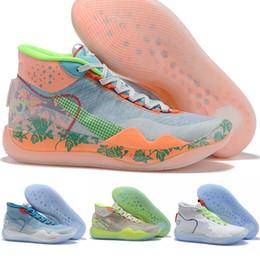 Новый Кевин Дюран Баскетбольная Обувь KD 12 Кроссовки Anniversary University Oreo США Elite KD 12 Спортивная Спортивная Обувь Размер 40-46 от