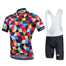 camisetas de ciclismo baratos Rebajas Venta caliente del precio barato Tenue Cycliste Homme ciclismo Jersey BIB Traje Bretelle ciclismo camino de MTB bicicleta arropa para el motorista