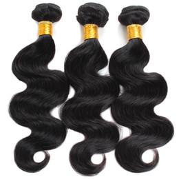 Cheveux Perou Corps Vague Paquets de Cheveux Humains 8-28 pouces Acheter 3 ou 4 Faisceaux Couleur Naturelle Non Remy 1 Pièce Extension de Cheveux ? partir de fabricateur