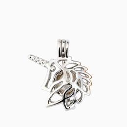 2020 perle baum leben 60 Arten Perle Käfig Anhänger mit Auster Perle Wolf Bär Elefant Hund Baum des Lebens DIY Mode Hohl Medaillon Schlüsselbein rabatt perle baum leben