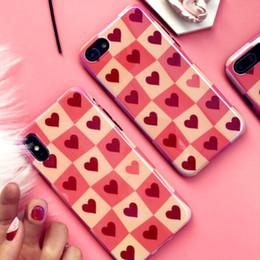 розовые домашние телефоны Скидка Роскошный Дизайнер Розовый Blu-Ray 3D Корпус Задняя Крышка Мягкий ТПУ Силиконовый Телефон Shell Лазерная Розовый Чехол для IPhone X XS 6 6S 7 8 Плюс Чехлы для Телефона