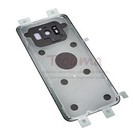 Новый S8 Plus Аккумулятор Задняя стеклянная крышка для Samsung S8 G950 G950F / S8 + G955 G955F Задняя крышка корпуса аккумулятора от Поставщики vintage