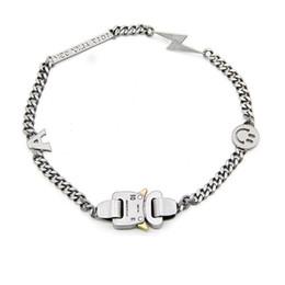 19ss Lightning ALYX Hero Collana a catena Hip Hop ALYX Street Accessori Collana a catena Collana di perle di moda da vestiti di ananas per bambini fornitori