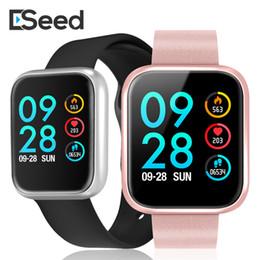 Herzfrequenz schlaf tracker online-P70-Armband-Armband Tracker Health Smartwatch Bluetooth 4.0 Schlafüberwachung Herzfrequenz Sedentary Erinnerung mit Kleinpaket