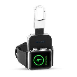 Argentina Cargador inalámbrico QI portátil para Apple Watch Series 1 2 3 4 Mini cargador magnético para exteriores para Apple Watch 38 40 42 44MM 950mah Power Bank cheap watch series power Suministro
