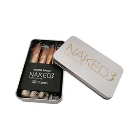 2019 set de maquillaje cepillo rojo caso Nuevos pinceles de maquillaje MAC Pinceles de maquillaje NK 12 pinceles de maquillaje pincel de polvo en polvo pincel de sombra de ojos Envío gratuito entrega rápida