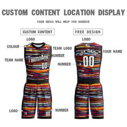 Kundenspezifische sweatshirts online-Angepasstes, großformatiges Basketball-Sweatshirt, ärmelloses, atmungsaktives Sport-Hemd, schnell trocknend, atmungsaktiv, einheitliche Sport-Fitnesskleidung