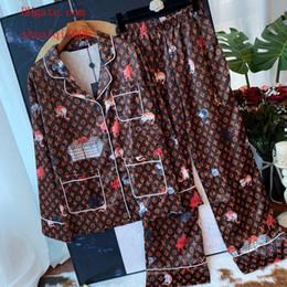 2019 impressão de camisetas para bandas Mulheres de duas peças outfits mulheres Treino impresso terno de manga Longa top T-shirt + cintura Alta elástico banda larga-perna calças roupas femininas TS-13 desconto impressão de camisetas para bandas