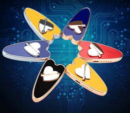 caja de luz en forma de corazón Rebajas 2019 la más nueva forma de corazón USB Metal encendedor electrónico cigarrillo fumar encendedores recargables 6 colores con caja de regalo llevó la luz para el amante