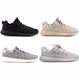 Zapatos oxford blancos de las mujeres online-Tortuga Negro White Cloud Citrin reflectante Kanye West pirata Dove Moonrock Oxford gris clásico Blaek mujeres de los hombres zapatos de diseño zapatillas de deporte 36-48