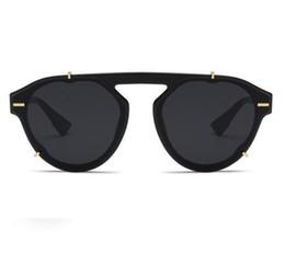 Nova Moda Homens e Mulheres Óculos de sol Best-venda Selvagem Unisex Personalidade óculos de sol óculos de sol tiro Rua radiação Sunglasse de