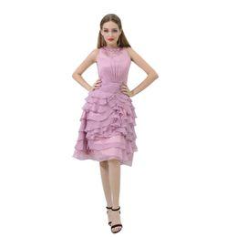 hals korsett kragen Rabatt MB022 Jewel Neck Lavender Prinzessin Abendkleid Korsett Perlen Kragen Tunika Kleid Stufenrock Abendkleid Stores Kleider für Frauen Party