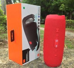 2019 telas de chão 1 PCS Charge3 Altifalante Sem Fio Bluetooth Speaker HIFI Mini Subwoofer Portátil Ao Ar Livre Bluetooth Speaker Altifalante Esportivo para iphone 6/7/8 / X / Xmax JBL