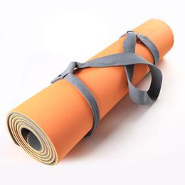 Portante online-New Yoga Tracolla regolabile Yoga Mat Sling Carrier Shoulder Carry Belt Esercizio Stretch Carrying Sling Mat Strap CALDO