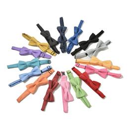 Cravate multicolore en Ligne-1 PCS multicolore Polka Dot Design Noble Cravate Enfants Casual Col Bow Tie Garçon Noeud papillon dans Accessoires pour enfants