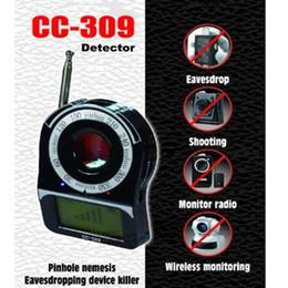 Argentina CC309 Banda completa portátil Cámara de frecuencia inalámbrica Escáner de señal Buscador de detectores de RF para su aplicación de seguridad para el hogar Suministro