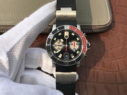 Uomini di riserva di riserva uomini meccanici orologi online-Orologio da uomo nautico 8003, movimento meccanico a tempo svizzero 7750, 42,7 mm, 42 ore di riserva di carica, impermeabile 200 m di profondità