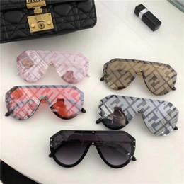 tons redondos para homens Desconto Moda masculina e feminina carta óculos de sol marca rodada verão sombra lazer ao ar livre condução óculos pode ser atacado