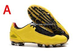 chaussures de soccer de taille Promotion 2019 chaussures de football à crampons Ntotal 90 Laser Se FG, chaussures de football, chaussures de football pour hommes, 5 couleurs Taille: 39-45