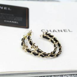 2019 orecchini a vite di strass 2019 di alta qualità di marca orecchini di design delle donne gioielli tondo orecchini