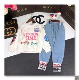 футболки с надписями Скидка Детская одежда одежда костюм 2019 новый шаблон в Тонг летние дети с коротким рукавом T хлопок рубашка Twinset 0324