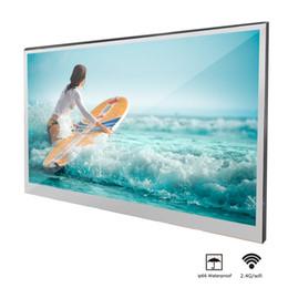 Führte eingebettete dusche online-Soulaca 22 Zoll Badezimmer Magic Mirror LED TV Android 7.1 IP66 wasserdicht WiFi Eingebettete Dusche Fernseher Hotel