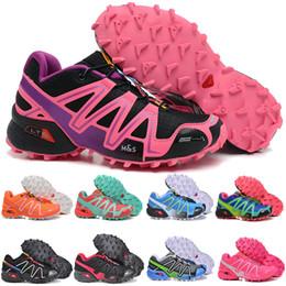 Designer shoes Salomon men women correr Solomon para hombre Speedcross 3 Trail Deportes al aire libre Zapatillas ligeras Mnes blanco negro rojo amarillo Zapatillas de deporte con desde fabricantes