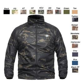 Canada Tenue de chasse en plein air Bataille Robe Uniforme Tactique Tactique Camo BDU Armée Vêtements de Combat Séchage Rapide Chemise Camouflage SO05-110 Offre
