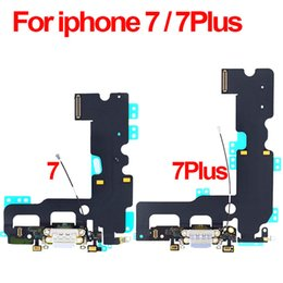 sony ericsson xperia kamera Rabatt Ladegerät Ladeanschluss Dock USB-Anschluss Flexkabel Für iPhone 7 7Plus 7 Plus Kopfhörer Audio Jack Ribbon