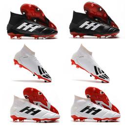 Mens originale Predator Manie 19.1 19 FG Scarpa calcio di alta qualità Predator Manie 19 Shoes FG di calcio dei morsetti