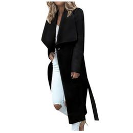 Autumn Spring Women Jackets plus size Open Front Coat Long Cloak Jackets Overcoat Waterfall Large size 5XL Cardigan Female BlusaMX190930
