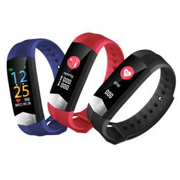 compteur de sang oxygène au poignet Promotion L8STAR intelligente montre-bracelet Bracelet CD01 ECG PPG adapter l'oxygène du sang de pression VRC hommes de fréquence cardiaque compteur Tracker USB Santé Fitness
