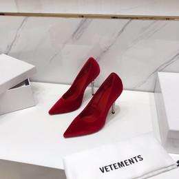 chicas zapatos de boda marfil Rebajas Cuero genuino 8 colores Zapatos de boda para mujer 10cm VETE Tacones MENTS Piel de oveja Pares Eiffel para novia Boda Cumpleaños