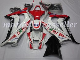 Zx 14 carrinhos on-line-OEM Qualidade New ABS carenagens Injection Mold Kits 100% Fit For Kawasaki Ninja ZX-10R 11 12 13 14 15ZX10R Carroçaria definir brilhante Vermelho Preto Branco