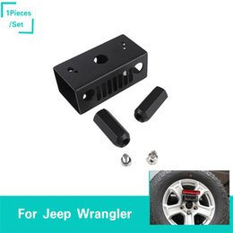 abs car brakes Promo Codes - ABS Black High Brake Light Bracket For Jeep Wrangler JL 2018+ New product Car Interior Accessories