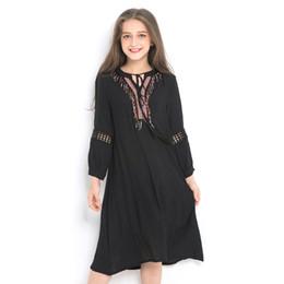 Canada Robes élégantes pour enfants Casual Girls Summer Dress Vêtements de l'adolescence Enfants Princesse robes Printemps Automne cheap elegant kids clothes Offre