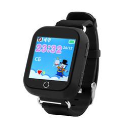 Moniteur enfant wifi en Ligne-Q100 Enfant Montre Smart Watch GPS Wifi Positionnement SOS Tracker Bébé Safe Monitor Enfants Smartwatch PK Q90 Q50 Q760